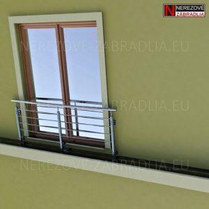 3D Model - Francúzske okno