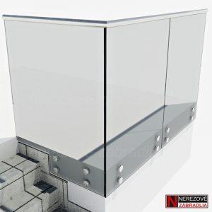 3D Model - Samonosne sklo