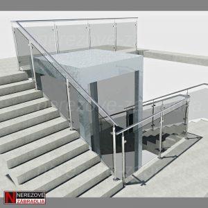 3D Model - Schodisko