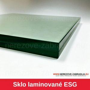 Sklo laminované ESG