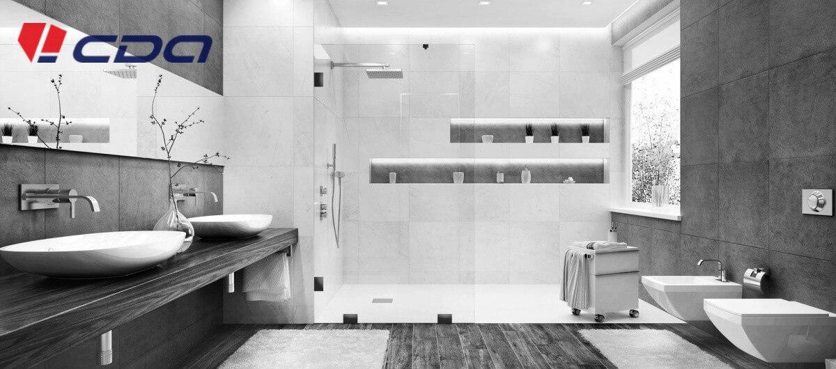 Sprchovacie kúty čierne