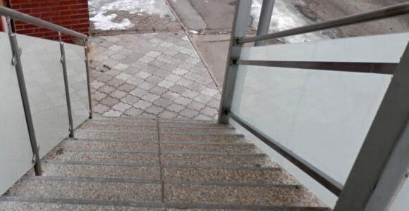 Zábradlie na schody